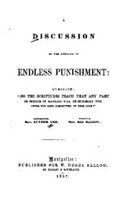 1857 lee ballou discussion on endless punishment