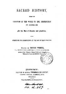 1861 white sacred history to ad70