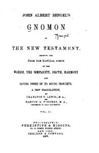 1864 bengel gnomon of the new testament 02