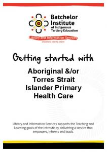 ATSI Primary Health Care
