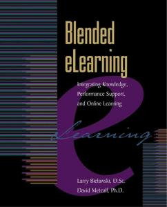 blended elearning Inttegrattiing Knowlledge,Perfformance