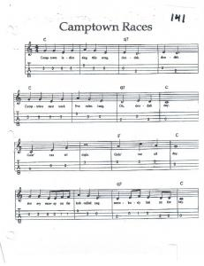 Camptown Races (Tablature)