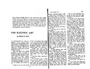 Dick ElectricAnt