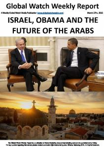 Israel Obama The Future of The Arabs