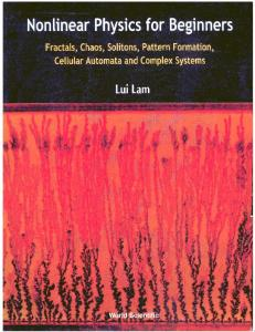 Nonlinear Physics for Beginners   L