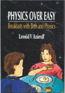 Physics Over Easy   Breakfast With Beth and Physics   L