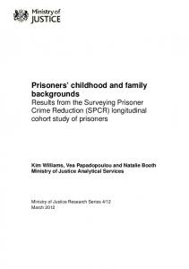 prisoners childhood family backgrounds