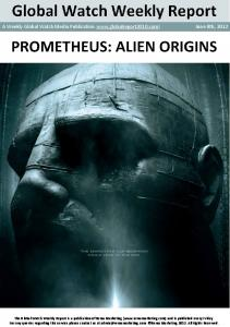 Prometheus alien origins