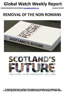 Removal of the non Romans