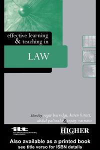 [Roger Burridge] Effective Learning and Teaching i(BookFi