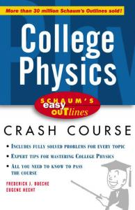 Schaum's Easy Outline College Physics
