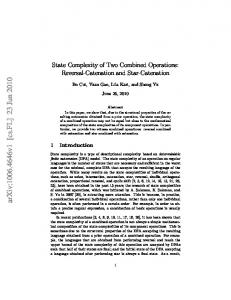 State complexity of catenation combined with union and intersection