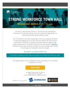 strong workforce town hall