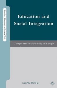 [Susanne Wiborg] Education and Social Integration(BookFi