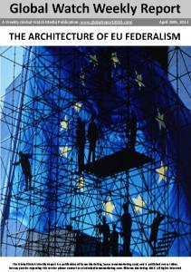 The architecture of EU federalism1