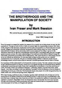 The Brotherhood and the Manipulation of Society   CFR   BILDERBERG GROUP   TRILATERAL COMMISION