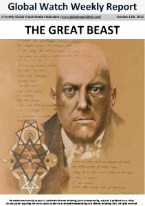 The great beast A Crowley