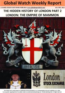 The hidden history of London part 2 London The empire of mammon