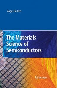 The Materials Science of Semiconductors   A