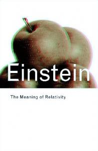 The Meaning of Relativity 6th ed    A