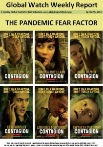 The pandemic fear factor