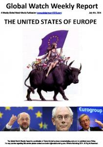 The United States of Europe1