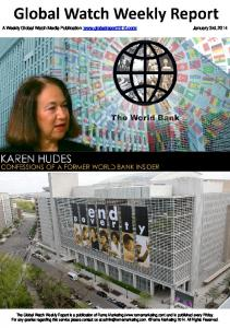 The World Bank confessins of a former world bank insider1