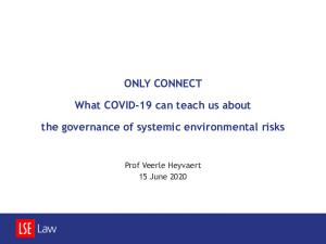 Veerle Heyvaert   Systemic risk 15 June