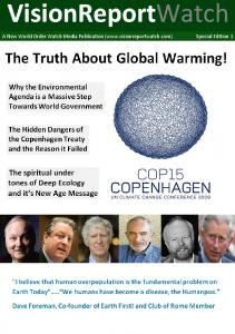 vision special edition 1 The Truth about global warming