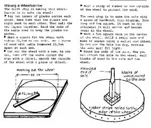 Wheelbarrows   Peoples Workbook, South Africa 1981 & Making Do   A