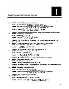 Young   University Physics with Modern Physics 12e   SOLUTIONS