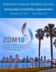 ZDM10 Partnership and Exhibition Opportunities
